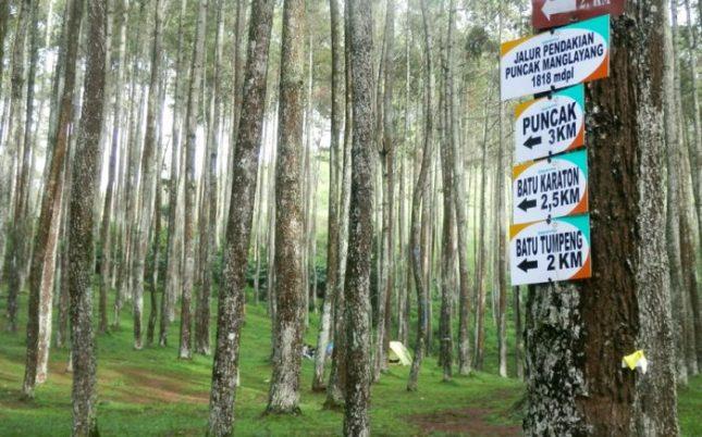 Pendakian Gunung Manglayang bersama CV Ray Adventure Indonesia