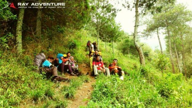 Jalur pendakian gunung Manglayang