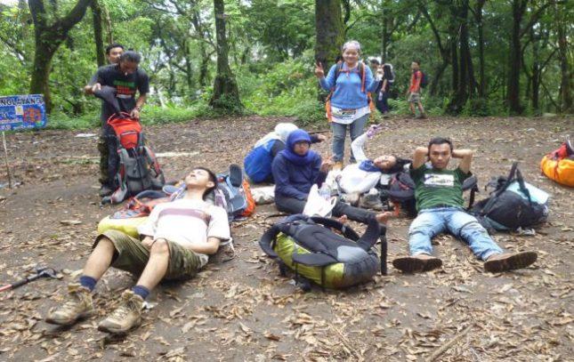 Pendakian kembali ke gunung Manglayang Bandung