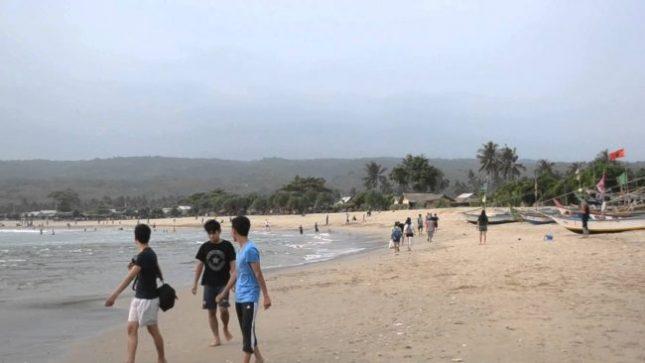 Wisata pantai Ciantir Banten