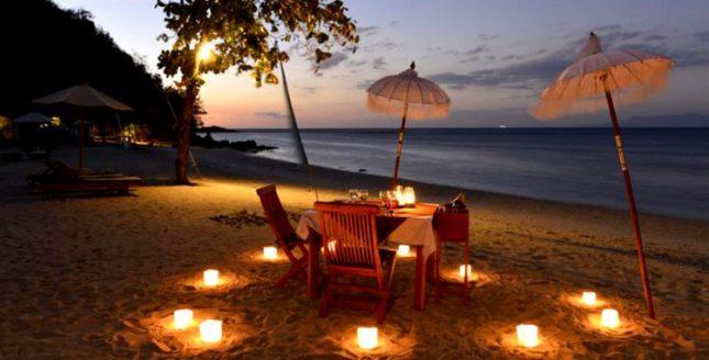 Romantisme suasana di pantai Sekotong Lombok