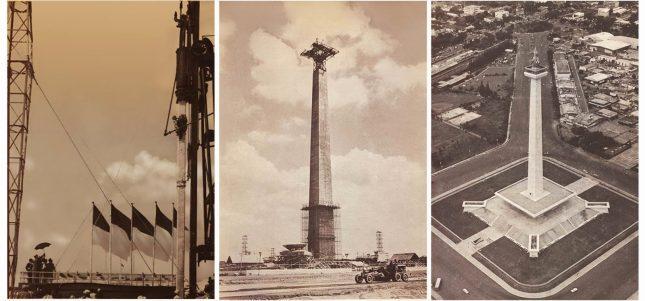 Pembangunan Tugu Monumen Nasional