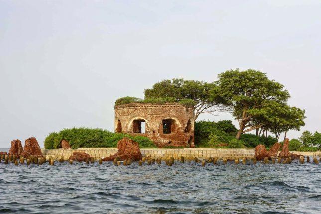 Pulau Onrust di Kepulauan Seribu Jakarta