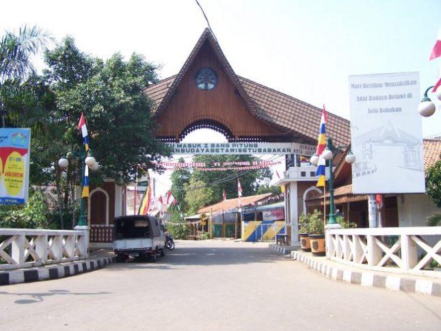 Setu Babakan Jakarta selatan