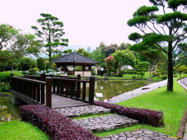 Wisata alam Taman Bunga Nusantara Bogor
