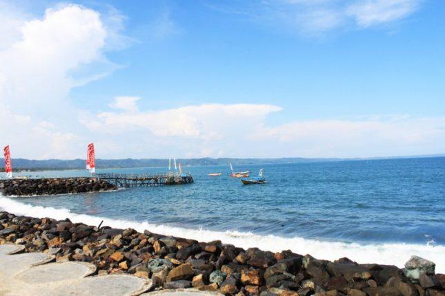 Tempat wisata di Jawa barat : Pantai Pangandaran