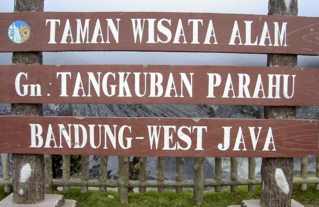 Wisata alam Tangkuban Perahu