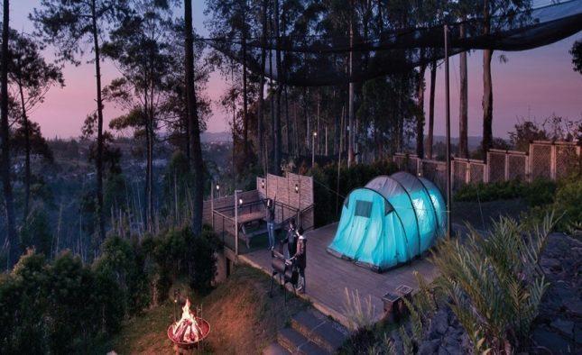 Areal camp Dusun Bambu