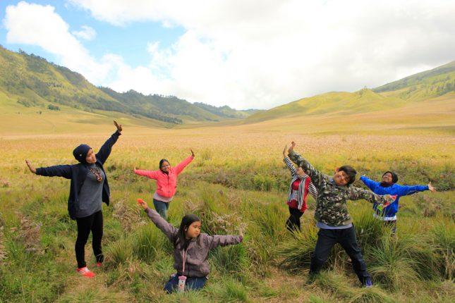 Liburan ke gunung Bromo