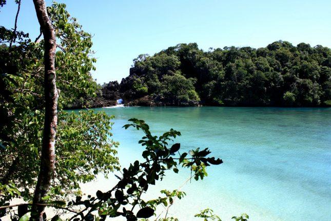 Wisata pantai Sendang Biru Malang