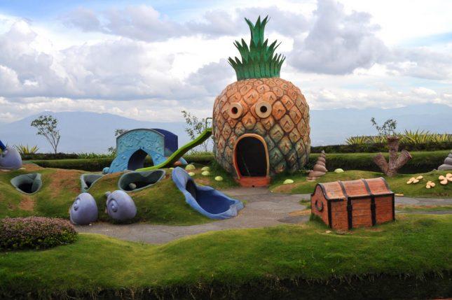 Wisata Kampung Gajah Wonderland Bandung