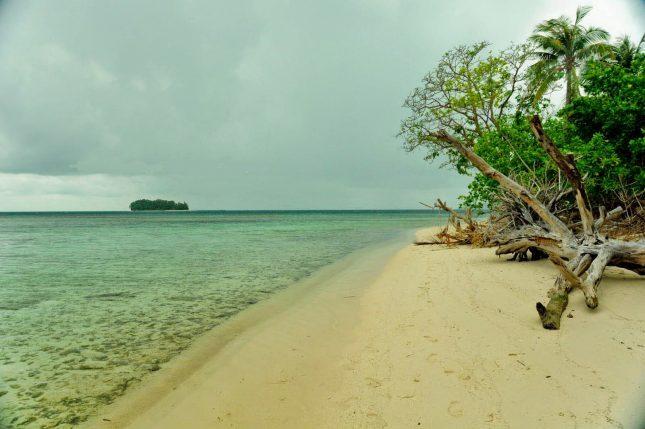 Wisata pantai Pulau Panjang Jepara