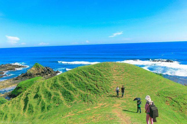 Bukit Mandalika di Lombok
