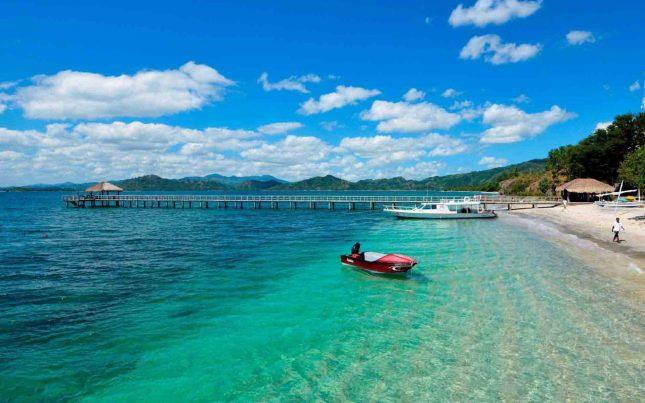 Destinasi pantai Sekotong Lombok