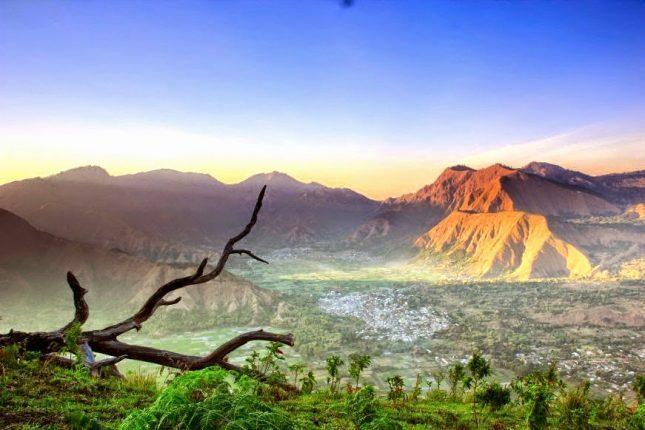 Sunrise di Bukit Pergasingan