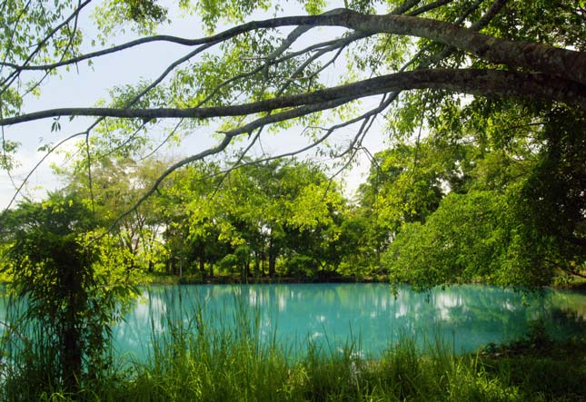 Keindahan danau Linting Medan yang penuh misteri