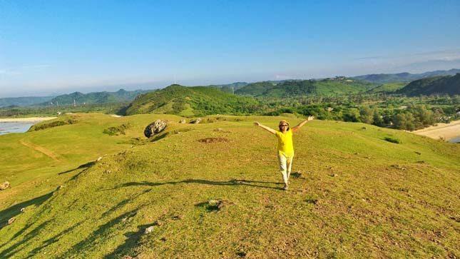 Eksotisme bukit Merese di Lombok