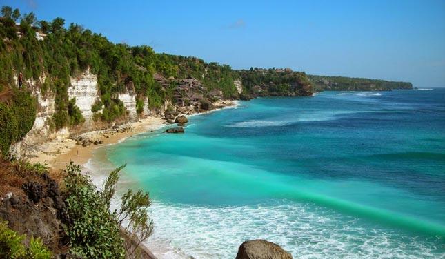 Kawasan wisata pantai Dreamland Bali