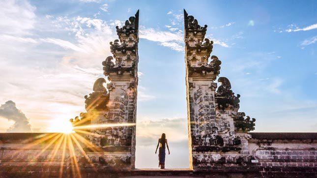 Tempat wisata di Bali pura Lempuyangan