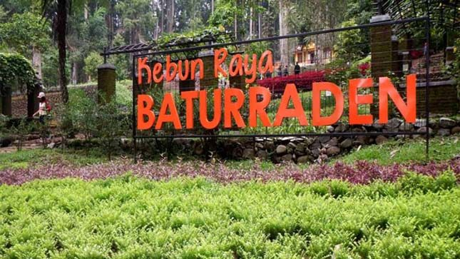 Wisata Kebun Raya Baturaden