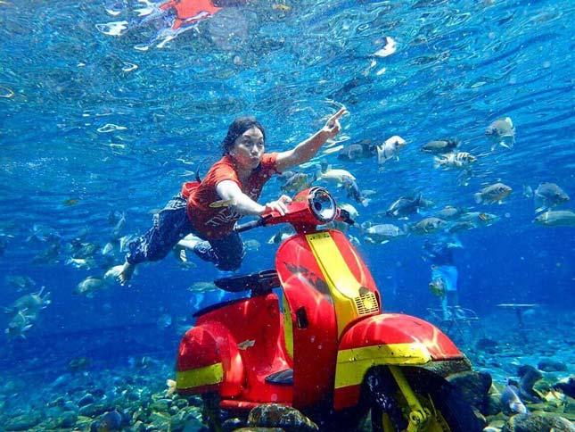 Destinasi wisata Umbul Ponggok Klaten
