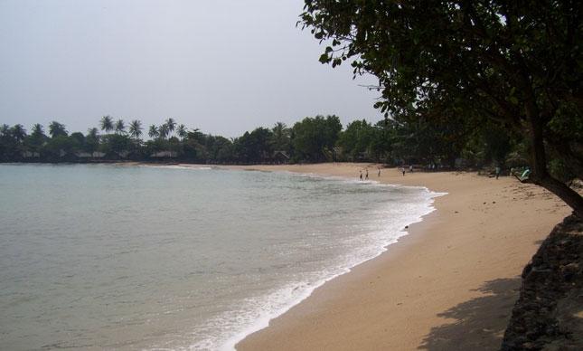 Wisata pantai Carita Banten