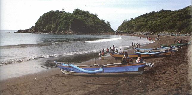 Wisata pantai Grajagan