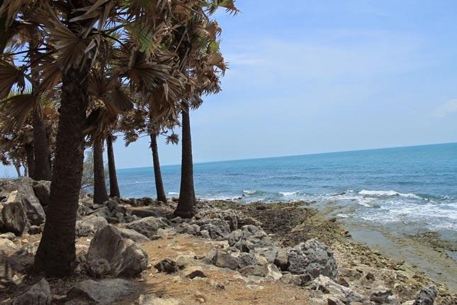 Pantai Ponjuk Timur di Madura