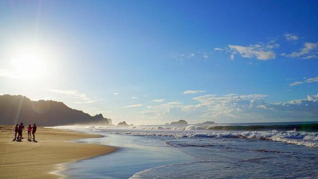 Wisata alam pantai Sukamade