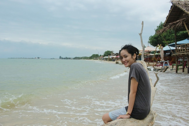 Wisata alam pantai Bondo