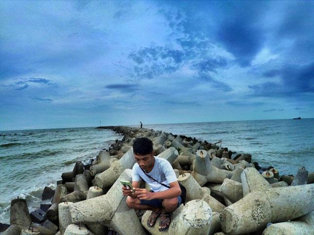 Wisata pantai di Indramayu Jawa Barat