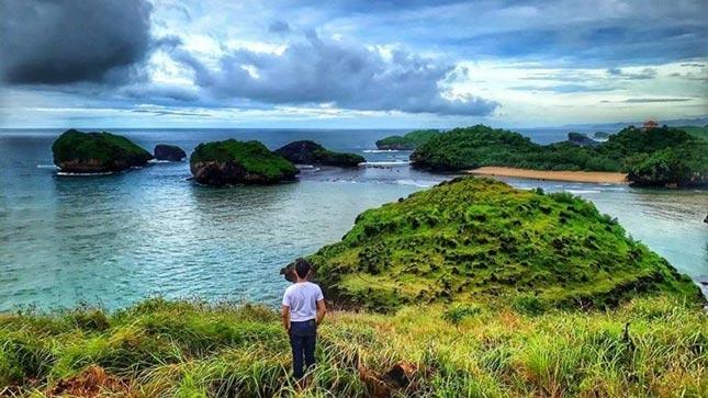 Wisata pantai Kasap mirip Raja Ampat