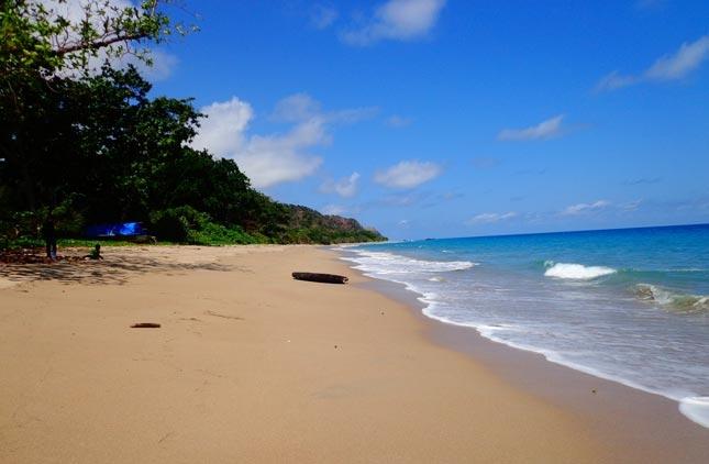 Wisata pantai Oa Flores