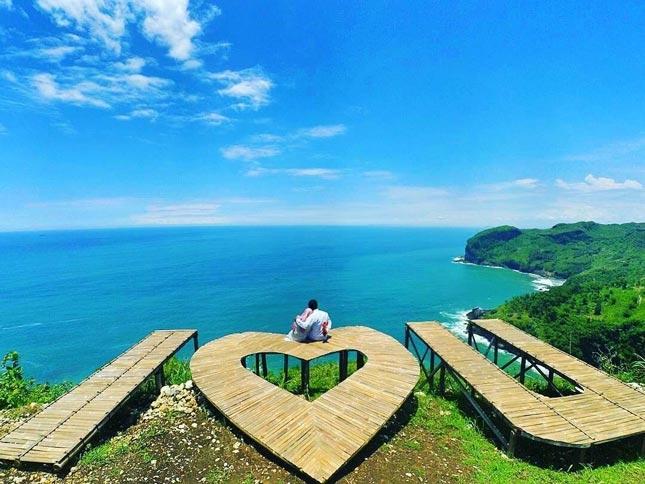 Destinasi wisata pantai Sawangan