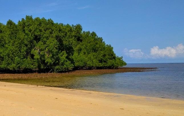 Wisata alam pantai Ena Gera