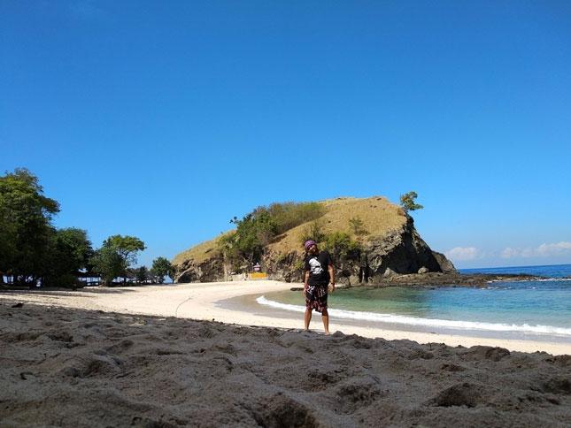 Wisata pantai Koka Flores