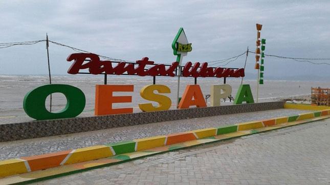 Wisata pantai Oesapa
