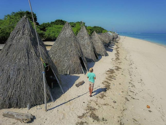 Wisata alam pantai Tablolong Kupang
