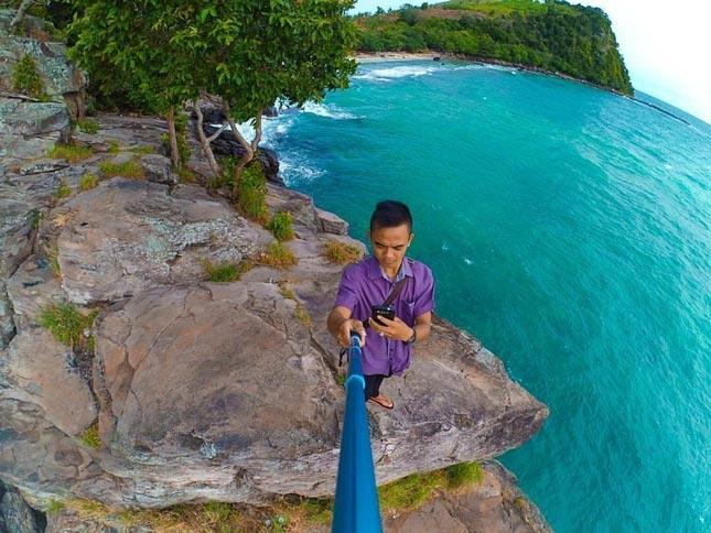 Keindahan pantai Tanjung Tuha