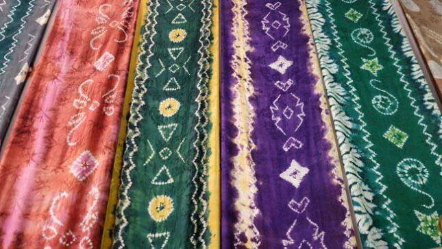 Motif batik Sasirangan khas Banjarmasin