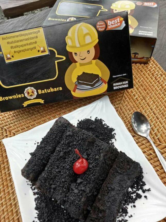 Brownies batubara khas Kaltim