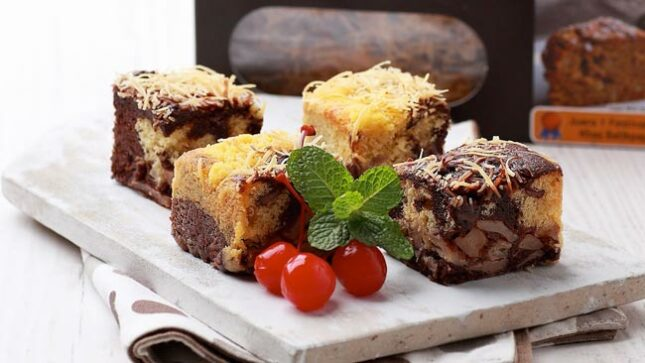 Cake buah Salak khas Kaltim