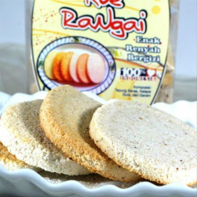 Kuliner kue Rangai / wadai Rangai