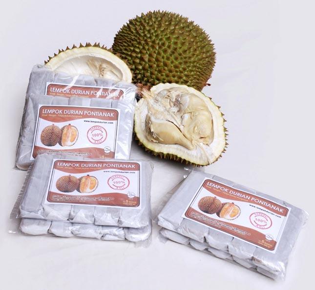 Olahan Lempok durian khas Pontianak