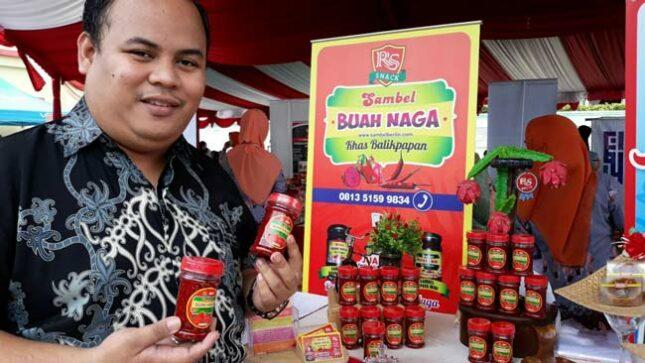 Produk UMKM sambal buah Naga