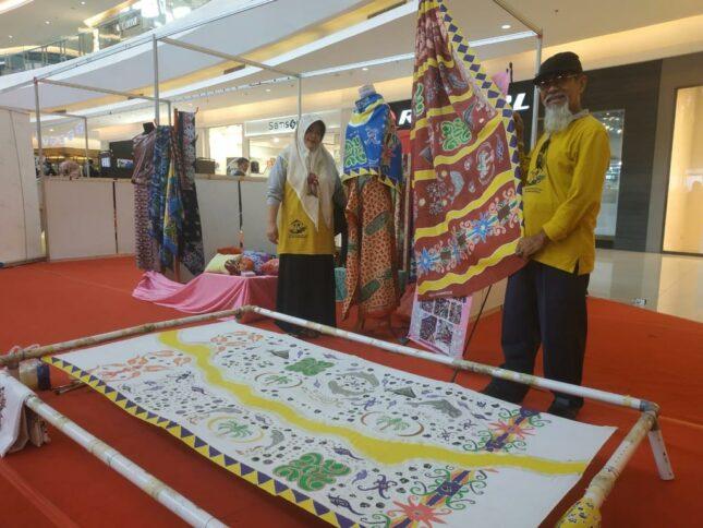 Aneka motif batik Samarinda