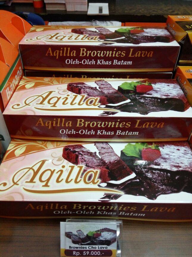 Oleh-oleh Brownies Lava Aqilla