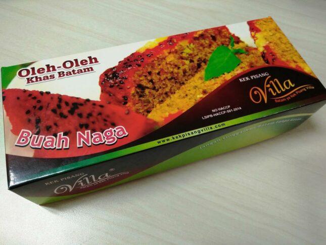 kek buah naga Batam