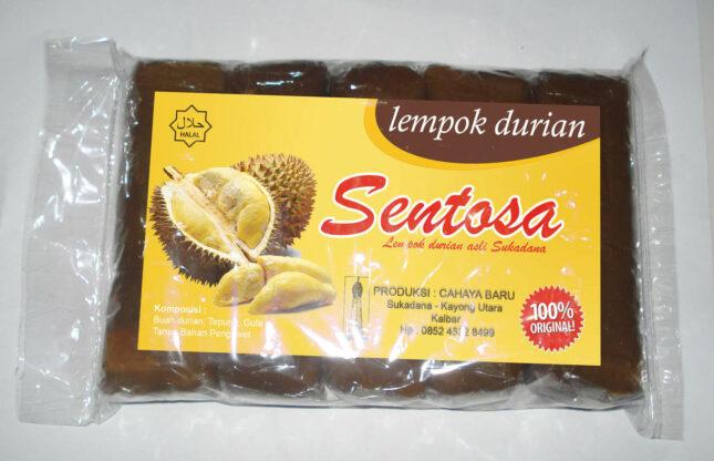 Lempok durian khas Samarinda Kaltim